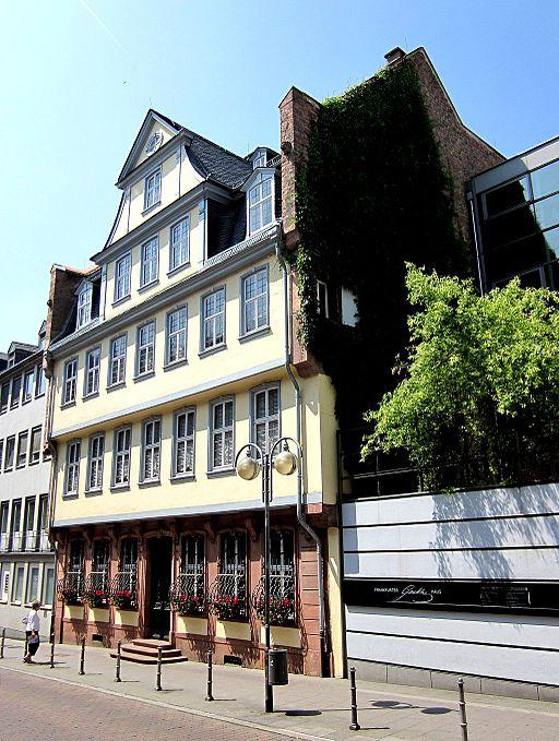 Frankfurt Goethe Haus